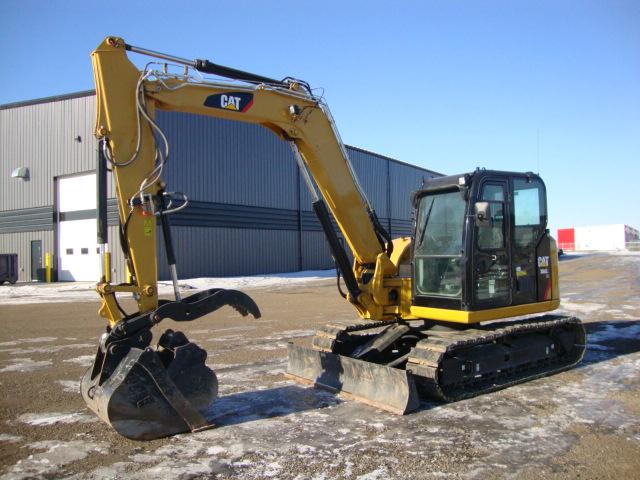 Caterpillar 308 E2 Hydraulic Excavator Spectrum Equipment