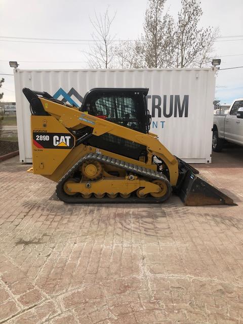 Cat 289D SKid Steer